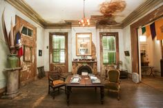 This mansion may not be for the clean freaks among us, but it is rich with history.