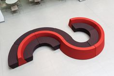 Social seating at Kirklees College, Huddersfield (GS)