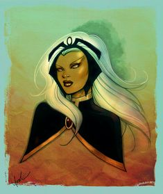 Storm Sketch Colored by *Protokitty on deviantART