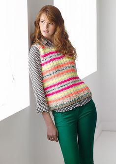 Highlighter Vest (Knit)