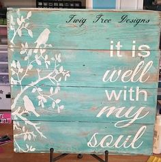 Do It Yourself Houseboat Strategies - Building Your Own Houseboat Custom Sign For A Customer - Love How It Turned Out Arte Pallet, Pallet Art, Pallet Signs, Pallet Crafts, Wood Crafts, Diy And Crafts, Wood Projects, Craft Projects, Projects To Try