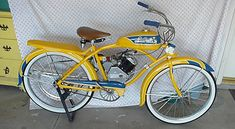1949 Shelby Donald Duck - Whizzer - Picture #2 - Dave's Vintage Bicycles