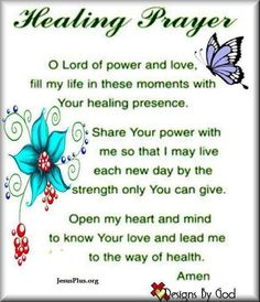 Uplifting and inspiring prayer, scripture, poems & more! Discover prayers by topics, find daily prayers for meditation or submit your online prayer request. Healing Prayer Quotes, Prayer For Healing The Sick, Healing Words, Power Of Prayer, Healing Scriptures, Prayer Scriptures, Bible Prayers, Bible Verses, Prayers