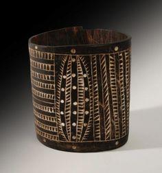 **A Lower Sepik Tortoisehell Bracelet, New Guinea