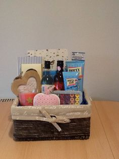 Grown up easter basket marie lous baskets pinterest easter teachers gift basket negle Image collections