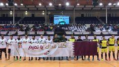 تهانينا لفريق Ooredoo الفوز بكأس بطولة سعادة وزير المواصلات والاتصالات الرمضانية لكرة القدم، كما نهنئ اللجنة المنظمة على هذا التنظيم الرائع  \\ We did it. Congratulation to MOTCQATAR for a successful tournament and Ooredoo Team for the win!  #Ooredoo #Ramadan