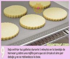 Receta super rica para galletas de mantequilla sin huevo, ya la probé! | Sugar Mur
