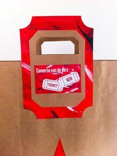 Paperbag Design Project Converse Mirjam van Laar