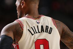 We're witnessing the most dominant stretch of Lillard's illustrious career. Behind the gaudy statistics is a steely, almost fierce, mindset. Basketball Is Life, Nba Basketball, Damian Lillard, Twitter Header Photos, Western Conference, Portland Trailblazers, Cartoon Pics, Nba Players, Rebounding