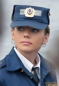 Russian Police Girl. Pls arrest me