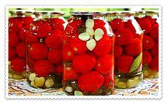 Подробные рецепты засолки помидоров на зиму в банках. Они настолько просты, что подойдут даже для начинающих хозяек или заядлых холостяков. Ароматно и вкусно