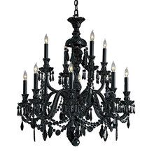 View the Metropolitan N9007 Crystal Twelve Light Maria Teresa Style Up Light Chandelier from the Vintage Collection at LightingDirect.com.