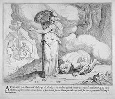 Athene parts the mists to reveal Ithaca  17th century etching  Theodor van Thulden (1606 - 1669)  Fine Arts Museums of San Francisco Homer Odyssey, Greek And Roman Mythology, Black And White Artwork, Museum Of Fine Arts, 17th Century, Pretty Pictures, Mists, Comic Art, Tapestry