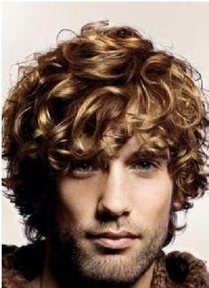 coupe de cheveux homme cheveux épais ondules