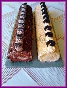 čokoládová a karamelová