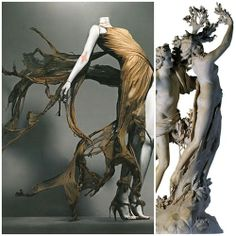 Alexander McQueen's + inspiration