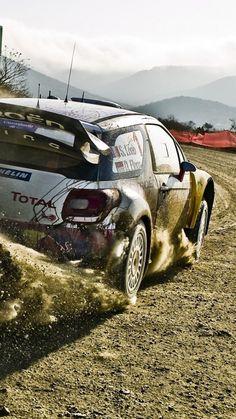 Citroen-Rally-Car-Drifting-iPhone-Wallpaper