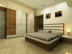 Make Your Ceilings Special - False Ceiling Ideas - Wardrobe Door Designs, Wardrobe Design Bedroom, Luxury Bedroom Design, Bedroom Furniture Design, Master Bedroom Design, Wardrobe Bed, Sliding Wardrobe, Bedroom False Ceiling Design, Bedroom Ceiling