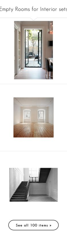 """Empty Rooms for Interior sets"" by synkopika ❤ liked on Polyvore featuring home, home decor, rooms, door, empty room, house, empty rooms, backgrounds, interior and pictures"
