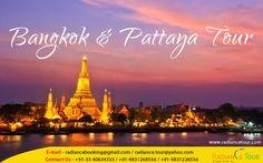 Bangkok & Pattaya Tour http://radiancetour.com/tour-detail/64/bangkok--pattaya-tour