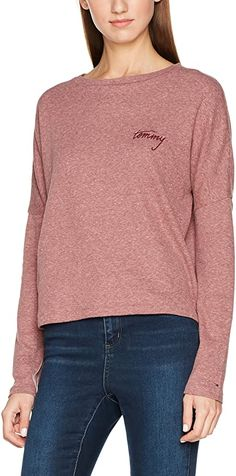 Tolle Farbe top Qualität  Bekleidung, Damen, Tops, T-Shirts & Blusen, Langarmshirts Tommy Hilfiger Damen, Shirt Bluse, Jeans, Pullover, Knitting, Fitness, Sweaters, Fashion, Amazing