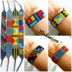 Rooster Art, Bead Loom Patterns, Peyote Stitch, Loom Beading, Bead Art, Bead Weaving, Jewelry Bracelets, Lily, Couture