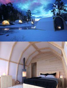 Pienen yksiön kokoisesta luksusteltasta kaavaillaan kätevää ja ekologista yöpymistilaa matkailuyrityksille ja pienille kesämökeille. Camp Land - Glamping Finland.