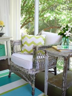 screened in porch chair