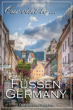 Nestled in the foothills of the Alps, Füssen in Bavaria is just a short hop into Germany from Austria...
