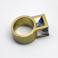 Pilar Garrigosa quartz ring