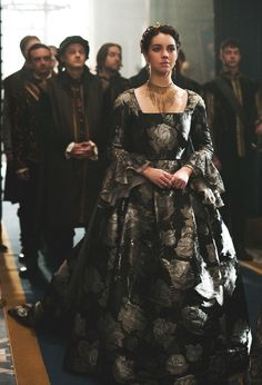 "Reign -- ""Succession"" -- Image Number: -- Pictured: Adelaide Kane as Mary, Queen of Scots -- Photo: Sven Frenzel/The CW -- © 2016 The CW Network, LLC. All rights reserved. Reign Mary, Mary Queen Of Scots, Queen Mary, Reign Catherine, Queen Elizabeth, Adelaide Kane, Reign Fashion, Fashion Tv, Fashion Design"