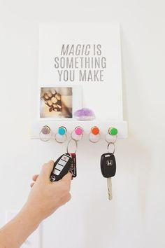 Keyholder DIY