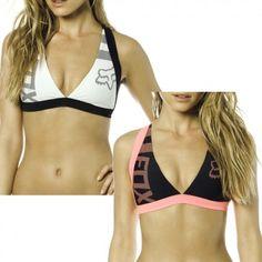 941e6ad30458d Fox Diviner Fixed Halter Bungee Womens Motocross Off Road Swimsuit Bikini  Tops Women Swimsuits