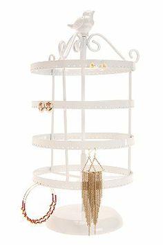 Spinning Bird Jewelry Stand