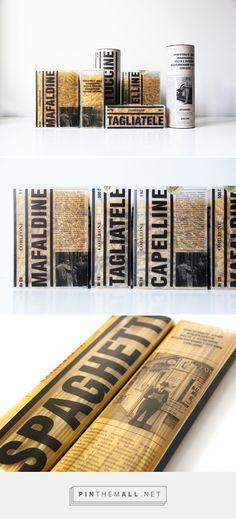 Corleone Pasta Packaging by Daria Kazakova | Fivestar Branding Agency – Design and Branding Agency & Curated Inspiration Gallery
