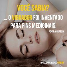 Você sabia? O vibrador foi inventando para fins medicinais. Visite nosso site: http://maiscuriosidades.com.br/  #curioso #maiscuriosidades #megacurioso #fatosdesconhecidos #curiosidades #vibrador #vocesabia #ocurioso
