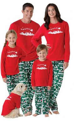 b106877f4d Christmas Day Gift Print Family Set Mother And Daughter Clothes Christmas  Pjs Family Matching Outfits Mother   Kids