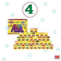 What is your favorite holiday movie? Answer to enter Day 4 of S&S Worldwide's 12 Days of Giveaways Contest. Like their page after answering for your chance to win a a Play-Doh Mega Pack! A winner will be announced tomorrow at 9 a.m. EST.
