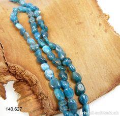 X7-15 12 MM Bleu Agate boules strang