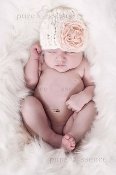 Knit Baby Hat Pattern -- Chunky Elf and