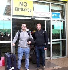 We welcome Celtic Thunder Band members Ryan and Micheal to CoRSU, a Cbm Canada's partner hospital in Uganda.
