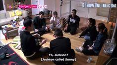 Love this scene.. they really bond as a family..   #minwoo #sunny #hyungjoon #nana #youngji #seho #dongwook #ryohei #sbsroommate #roommates2