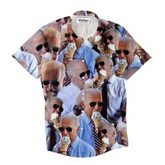 """""""Probably the only good thing to come out of the recent US election is the amazing Joe Biden memes. Joe Biden Ice Cream, Button Shirts, Button Down Shirt, Us Election, Never Fade, Tank Man, Things To Come, Tank Tops, Memes"""