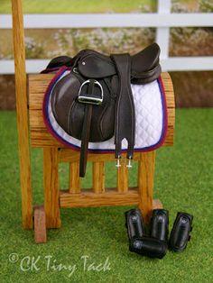 CK Tiny Tack: Saddles - Perfection in minature
