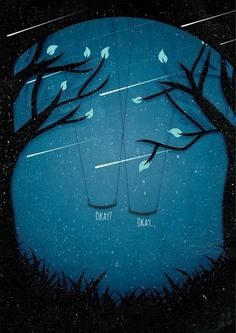 Lovely art for The Fault in Our Stars