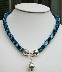 Crochet with sterling silver