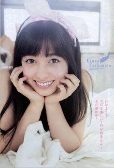 Kanna Hashimoto - Weekly Shonen Sunday 2015 No31