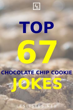 Chocolate chip cookies are some of the best desserts ever! With that in mind, check out the top 67 chocolate chip cookie jokes. #chocolatechipcookies Chocolate Sticks, Love Chocolate, Kinds Of Cookies, Cookies And Cream, Oreo Cookies, Chocolate Chip Cookies, Cookie Factory, German Cookies, Online Bakery