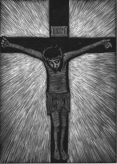 Crucifixion by Maria Laughlin
