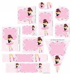 Sweet Ballerina Free Printable Mini Kit.